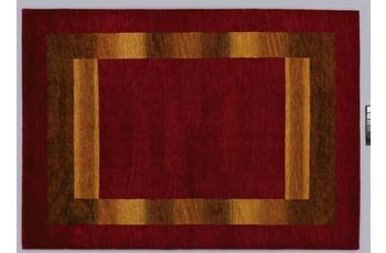 Tadj, Gabbeh Teppich, 2922 rot, handgekn�pft mit argentinischer Schurwolle