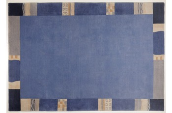 THEKO Nepalteppich - Avanti - blau