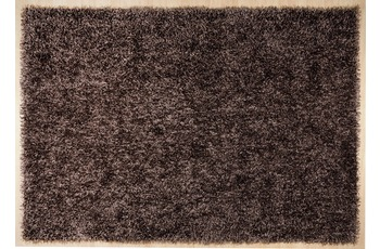 THEKO Pop Uni dark brown 160 x 230 cm
