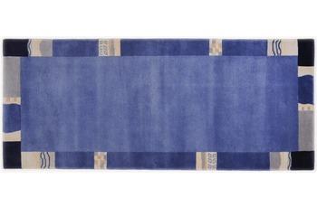 THEKO Teppich Avanti TK-02 701 blau 80 x 300 cm