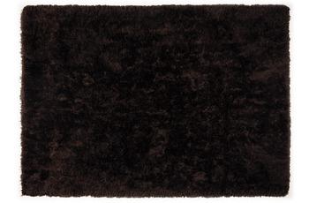 THEKO Teppich Flokato, UNI, dark brown