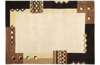 THEKO Teppich Florida, 3193, brown 200cm x 200cm