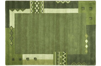 THEKO Teppich Florida, 3193, green 200cm x 200cm