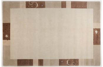 THEKO Teppich Ganges, 991, beige 200cm x 200cm