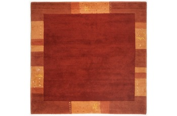 THEKO Teppich Ganges, 991, red 200cm x 200cm