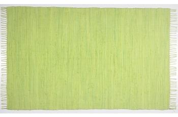 THEKO Teppich Happy Cotton, UNI, green