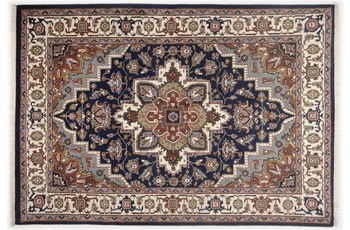 Oriental Collection Teppich Imperial Heriz, Heriz, blue 160cm x 230cm