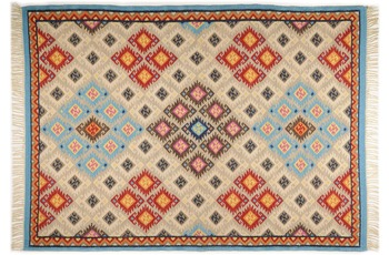 THEKO Teppich Kelim Royal, RO-12-6090, multicolor 70cm x 140cm