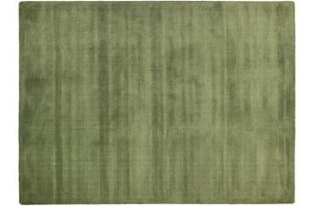 THEKO Teppich Melbourne1000, UNI, dark green 67cm x 135cm