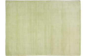 THEKO Teppich Melbourne1000, UNI, green 67cm x 135cm
