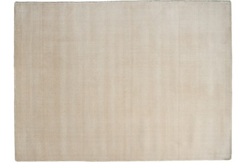 THEKO Teppich Melbourne1000, UNI, light beige 67cm x 135cm