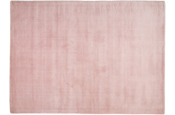 THEKO Teppich Melbourne1000, UNI, pink 67cm x 135cm