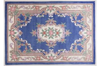 THEKO Teppich Ming, Aubusson 501, blue 120cm x 170cm