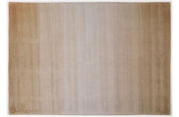THEKO Teppich Wool Comfort, Ombre, beige 70cm x 140cm