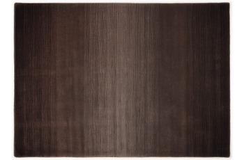 THEKO Teppich Wool Comfort, Ombre, choco