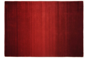 THEKO Teppich Wool Comfort, Ombre, red 70cm x 140cm
