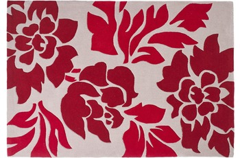 ThinkRugs Hong Kong 33L Beige/ Red 120 x 170 cm