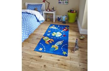 Think Rugs Teppich Hong Kong 6149 Blau
