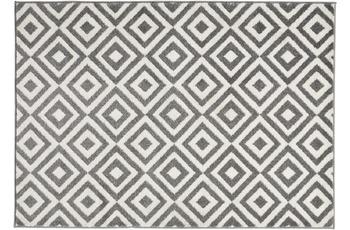 Think Rugs Matrix MT 89 Grau/ White