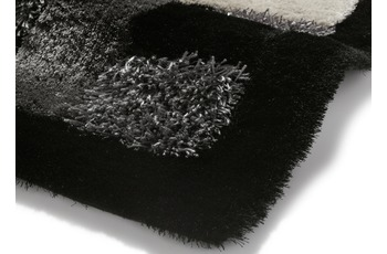 Think Rugs Teppich Noble House JR04 Schwarz