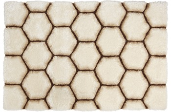 ThinkRugs Noble House NH30782 Cream/ Brown 150 x 230 cm