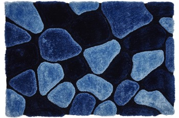 ThinkRugs Noble House NH5858 Blue 150 x 230 cm