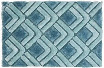 ThinkRugs Teppich Noble House NH8199 Blau
