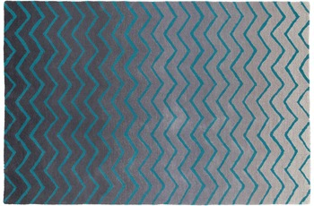 ThinkRugs Spectrum SP22 Grau/ Blau