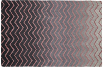 ThinkRugs Spectrum SP22 Grey/ Pink 150 x 230 cm