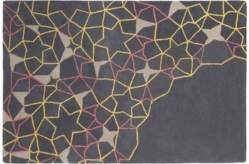 ThinkRugs Spectrum SP37 Grau/ Gelb/ Pink
