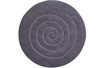 ThinkRugs Spiral Grau