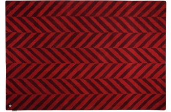 Tom Tailor Country - Zigzag red 65 x 135 cm
