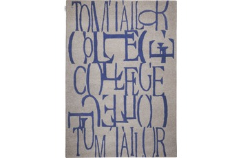 Tom Tailor Home - Letters blue 140 x 200 cm