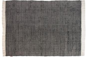 Tom Tailor Teppich Cotton Color, UNI, schwarz