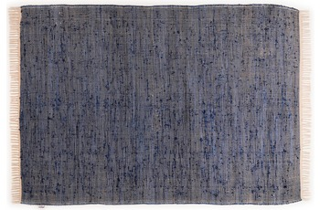 Tom Tailor Teppich Cotton Colors, Uni, denim 140cm x 200cm