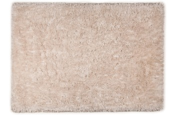 Tom Tailor Teppich Flocatic, Uni, beige 160cm x 230cm