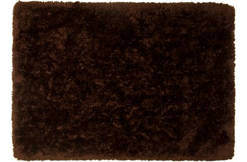 Tom Tailor Teppich Flocatic, Uni, brown 70cm x 140cm