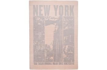 Tom Tailor Teppich Happy, New York, beige 65cm x 135cm