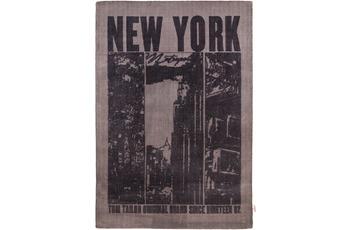 Tom Tailor Teppich Happy, New York, black 65cm x 135cm