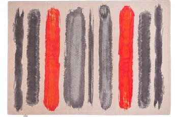 Tom Tailor Teppich Happy, Painted Stripe, orange multi 65cm x 135cm