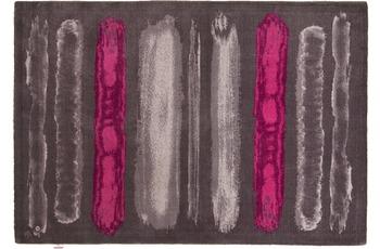 Tom Tailor Teppich Happy, Painted Stripe, pink multi 65cm x 135cm