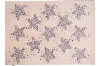 Tom Tailor Teppich Happy, Stars, beige 65cm x 135cm
