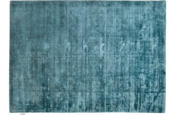 Tom Tailor Teppich Shine, uni, blau