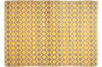 Tom Tailor Teppich Smooth Comfort, Geometric, gelb