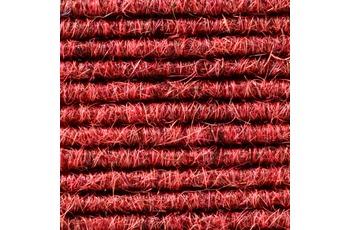Tretford Teppichboden Interland 524 Fliesen 50x50 cm Rot, Paketinhalt 0,25 qm