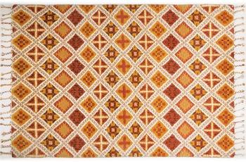 Tuaroc Berberteppich gemustert, Midar 02, terrakotta