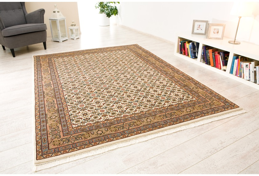 Oriental Collection Khan Herati beige, Orient-Teppich