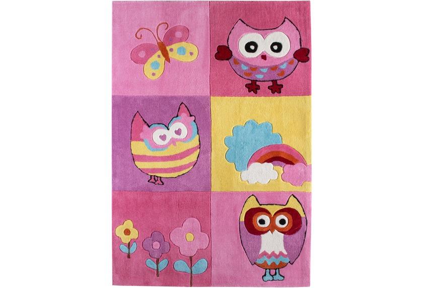 Kinderteppich eule rosa  Andiamo Kinder-Teppich Eule Teppich Kinderteppich bei tepgo kaufen ...