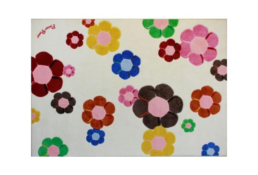 Andiamo Kinder-Teppich Flower Power