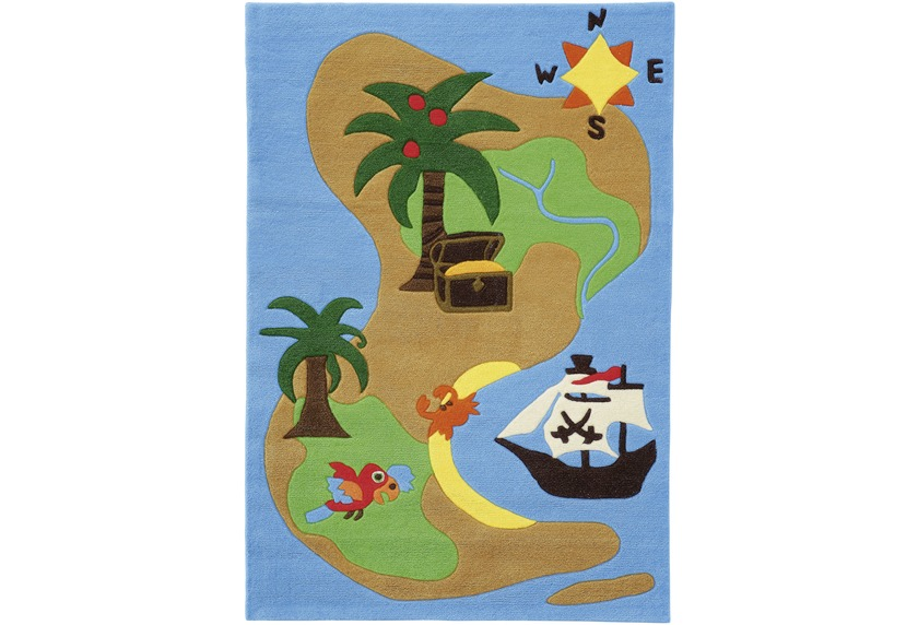 Arte Espina Kinder-Teppich JOY 4026 grün